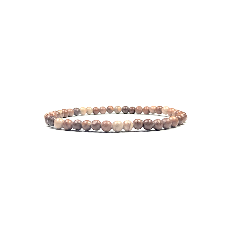 4mm-natural-stone-bracelet-stretch-beaded-trendy-brown-stripe-agate-BR-15784-15795