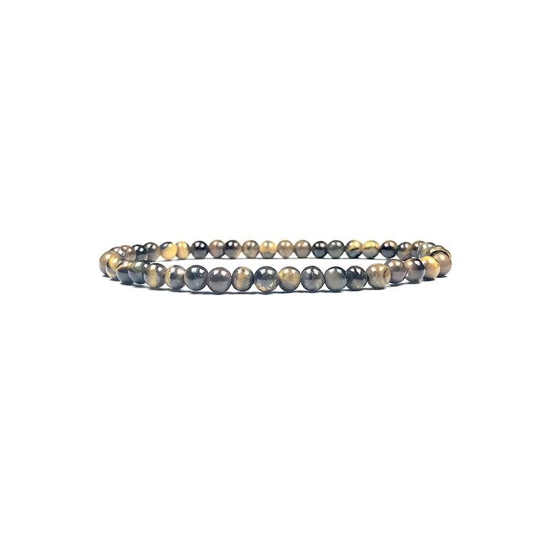 4mm-natural-stone-bracelet-stretch-beaded-trendy-brown-tiger-eye-BR-15784-15796