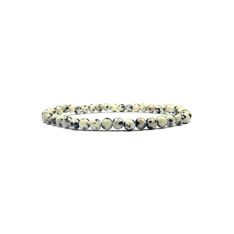 4mm-natural-stone-bracelet-stretch-beaded-trendy-dalmatian-stone-BR-15784-15797