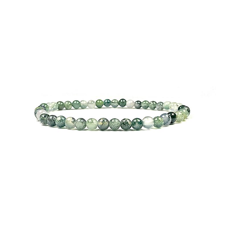 4mm-natural-stone-bracelet-stretch-beaded-trendy-diopside-BR-15784-15798