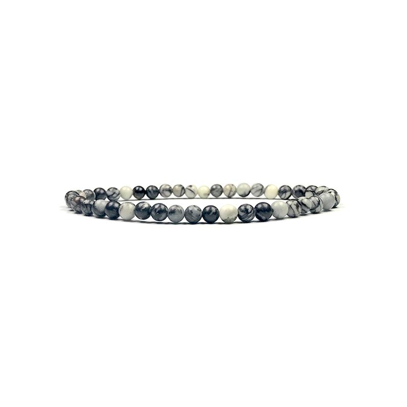 4mm-natural-stone-bracelet-stretch-beaded-trendy-larvikite-BR-15784-15806