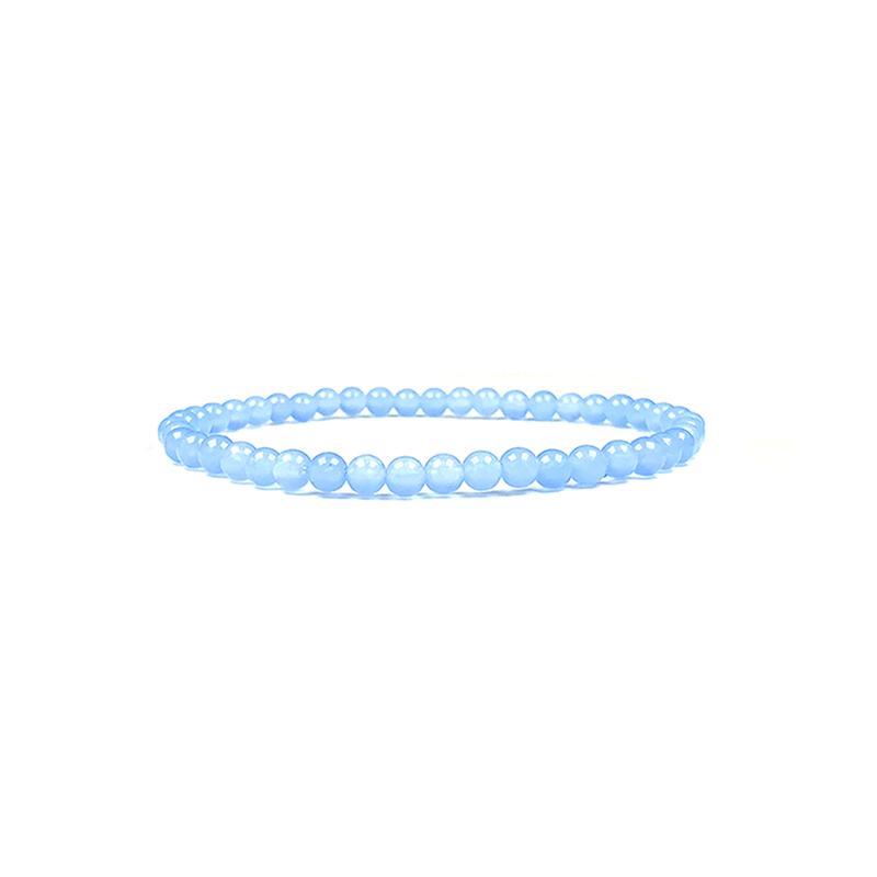 4mm-natural-stone-bracelet-stretch-beaded-trendy-light-blue-agate-BR-15784-15807