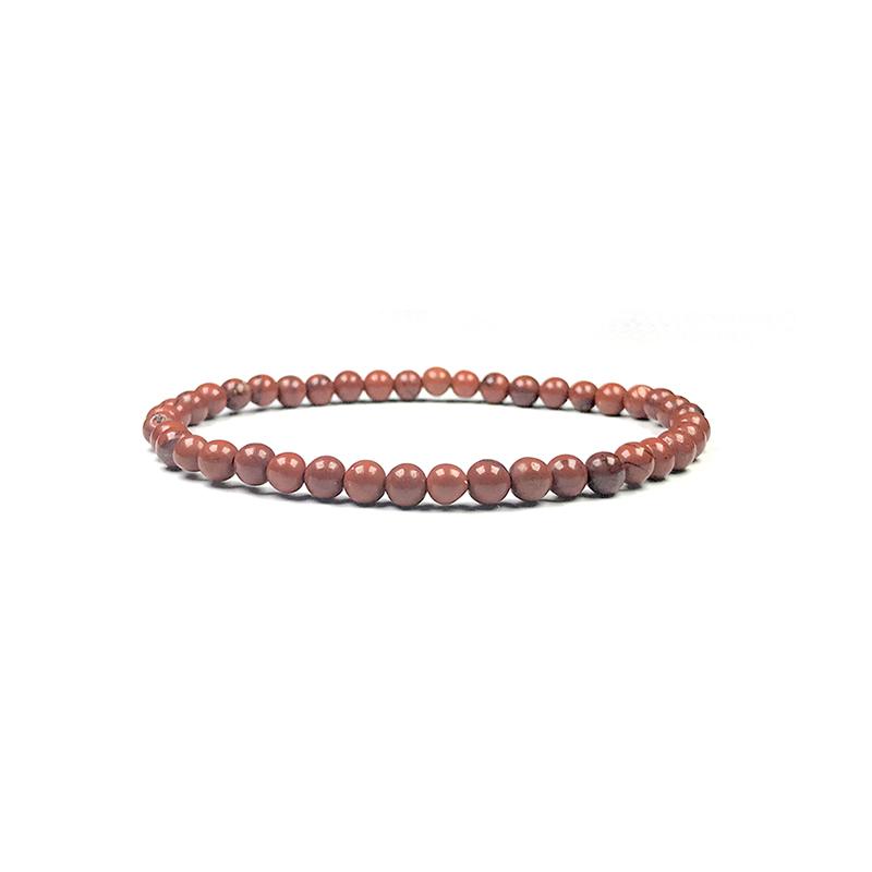 4mm-natural-stone-bracelet-stretch-beaded-trendy-red-jasper-BR-15784-15812