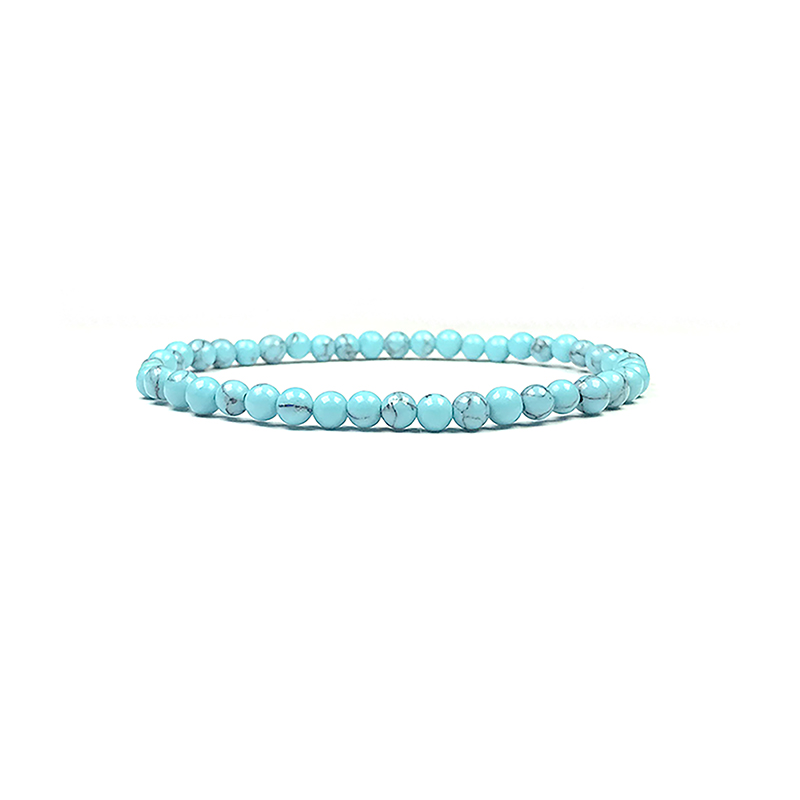 4mm-natural-stone-bracelet-stretch-beaded-trendy-turquoise-BR-15784-15815