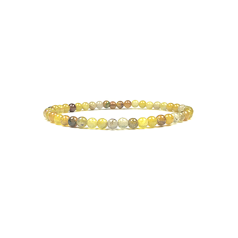 4mm-natural-stone-bracelet-stretch-beaded-trendy-yellow-fire-agate-BR-15784-15819