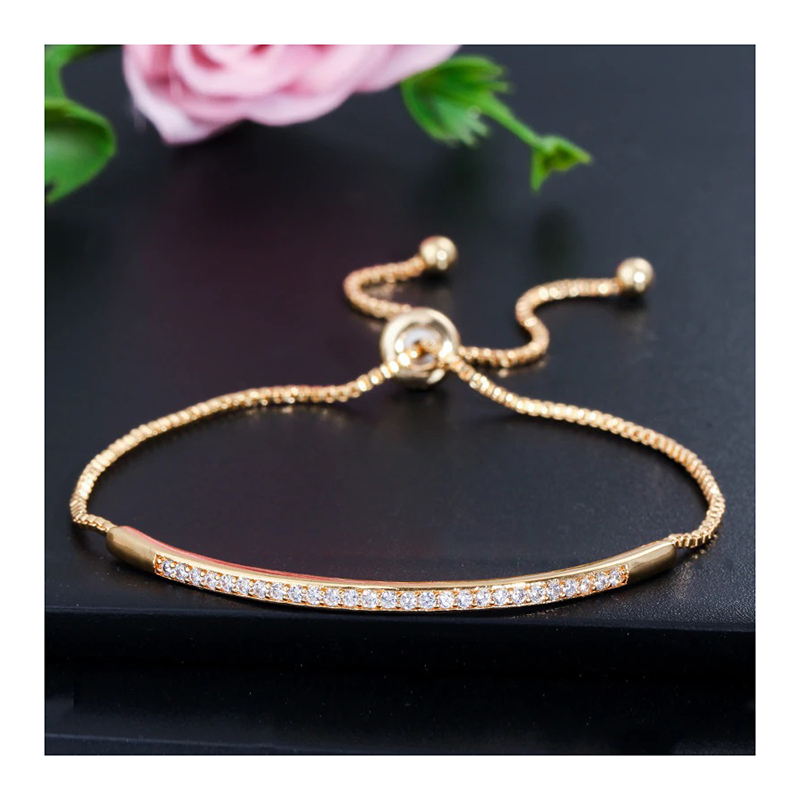 cz-adjustable-bangle-bracelet-for-women-yellow-gold-BR-16041-16042