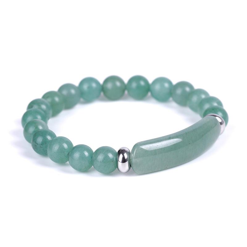 green-aventurine-rectangle-bar-beaded-bracelet-natural-stones-stretch-BR-16015-16020