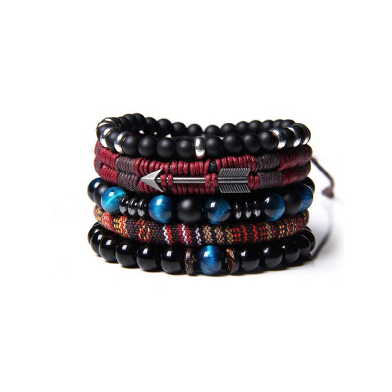 leather-beaded-men-bracelet-set-natural-stones-g-BR-16057-16062