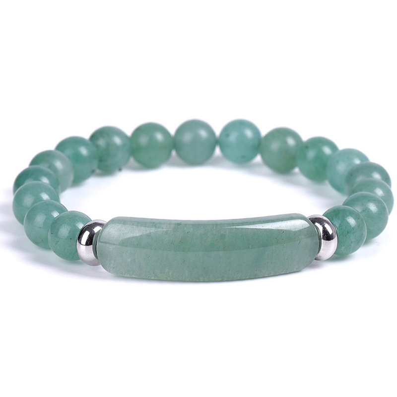 rectangle-bar-beaded-bracelet-natural-stones-stretch-green-aventurine-BR-16015-16020