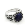 925-sterling-silver-antique-style-mens-ring-lapis-lazuli-RNG-16456
