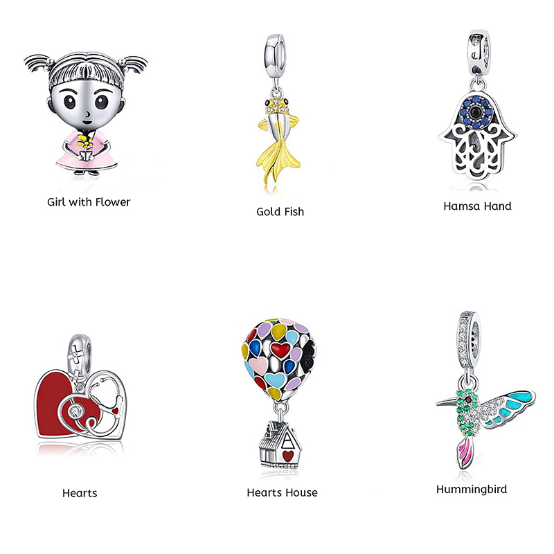 925-sterling-silver-charms-for-womens-bracelets-girl-with-flower-hummingbird-CHRM-16744