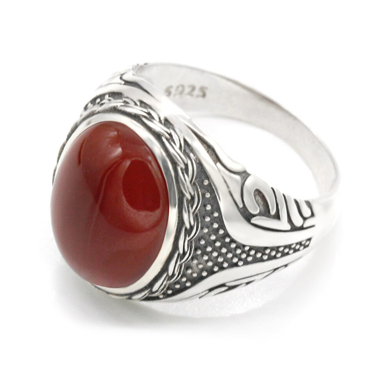 925-sterling-silver-red-onyx-mens-ring-RNG-16446