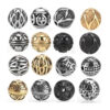 Ancient Style Beads Spacer Charm 316L Stainless Steel