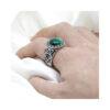 malachite-stone-mens-ring-sterling-silver-925-RNG-16474