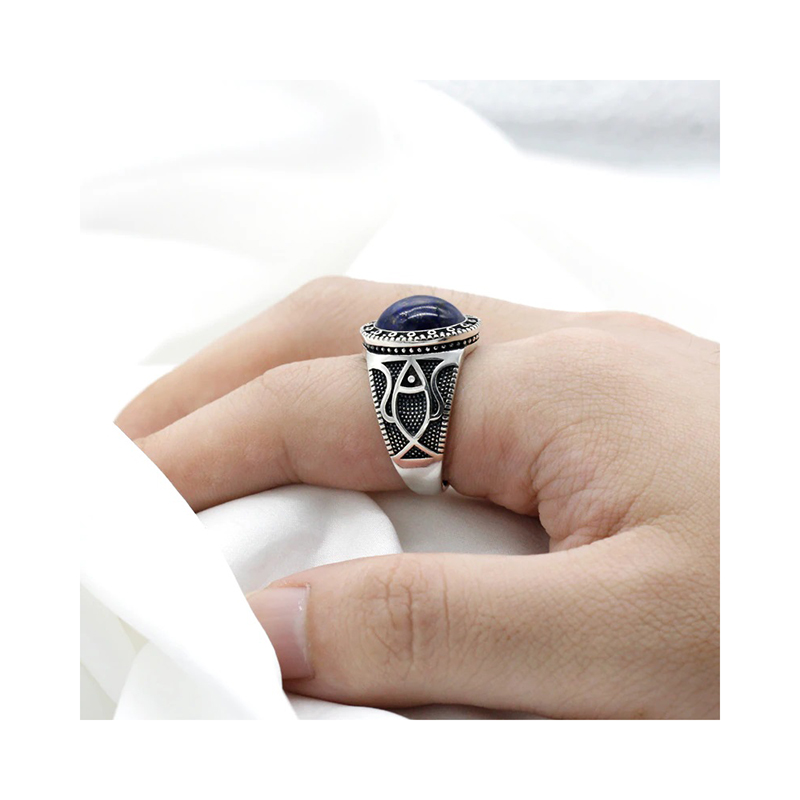 mens-ring-antique-style-lapis-lazuli-925-sterling-silver-RNG-16456