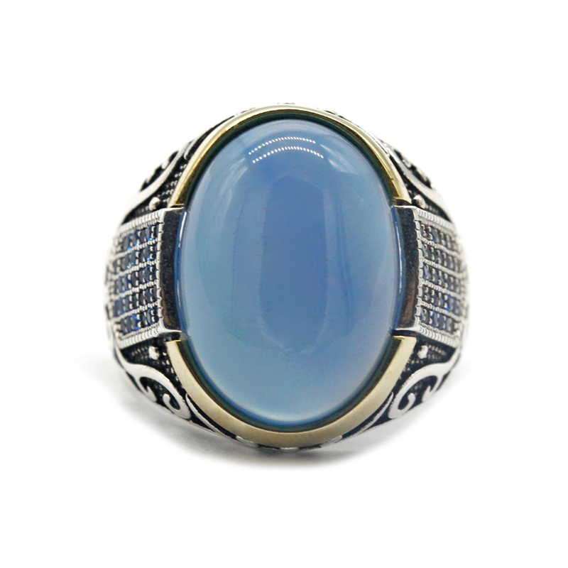 mens-ring-turkish-style-blue-agate-zircon-s925-RNG-16464