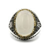 ring-white-agate-cocktail-for-men-925-sterling-silver-RNG-16380