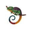 Large Lizard Chameleon Brooch Fashion Jewelry