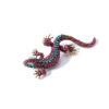 Lizard Rhinestone Brooch Pin Clothes Jewelry