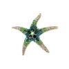 starfish-rhinestone-brooch-pin-cute-decorating-jewelry-green-PN-17105-17109
