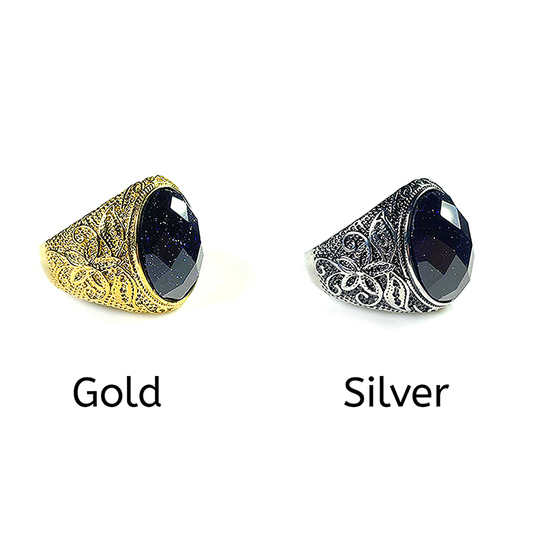 blue-sandstone-mens-ring-stainless-steel-gold-silver-RNG-17523