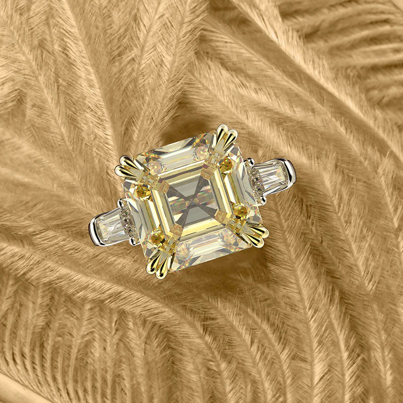 moissanite-created-gemstone-ring-cz-925-sterling-silver-yellow-RNG-17404