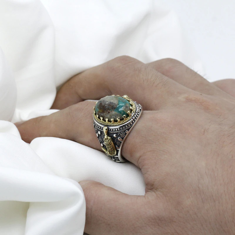 natural-turquoise-stone-mens-925-sterling-silver-ring-RNG-17440