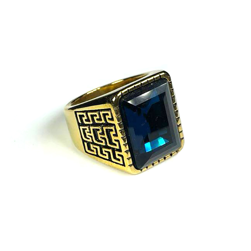 persian-style-mens-ring-stainless-steel-rhinestone-gold-blue-RNG-17587