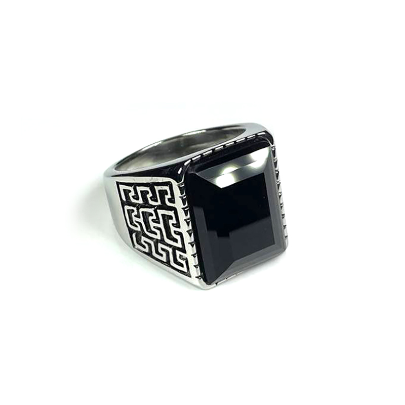 persian-style-mens-ring-stainless-steel-rhinestone-silver-black-RNG-17587