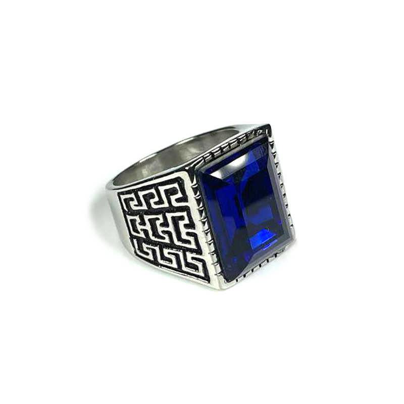 persian-style-mens-ring-stainless-steel-rhinestone-silver-blue-RNG-17587