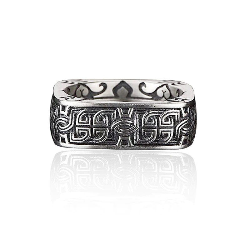 square-ancient-mens-ring-925-sterling-silver-RNG-17468