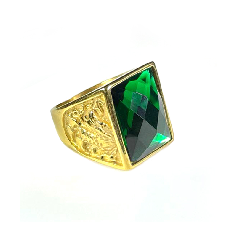 stainless-steel-dragon-ring-rhinestone-gold-emerald-RNG-17547