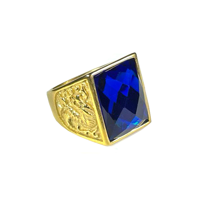 stainless-steel-dragon-ring-rhinestone-gold-sapphire-RNG-17547