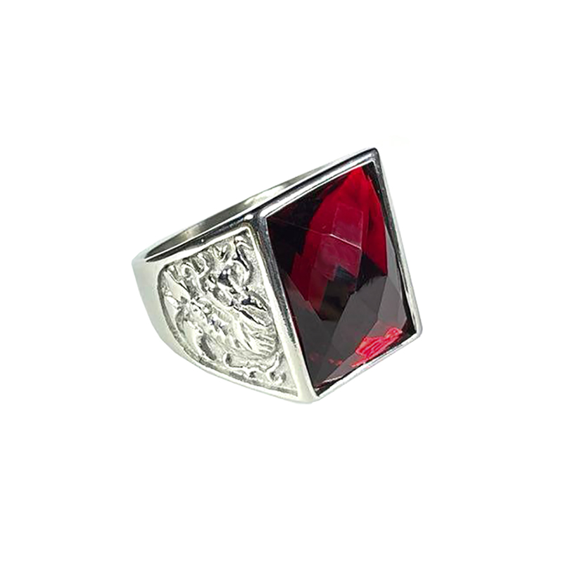 stainless-steel-dragon-ring-rhinestone-silver-ruby-RNG-17547