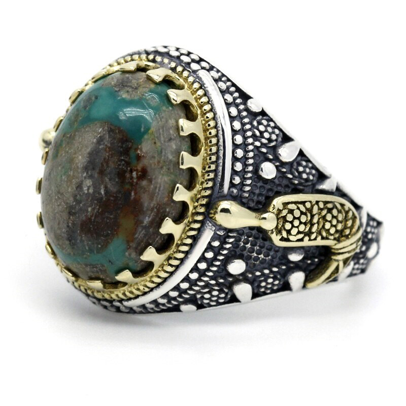 turquoise-natural-stone-mens-ring-925-sterling-silver-RNG-17440