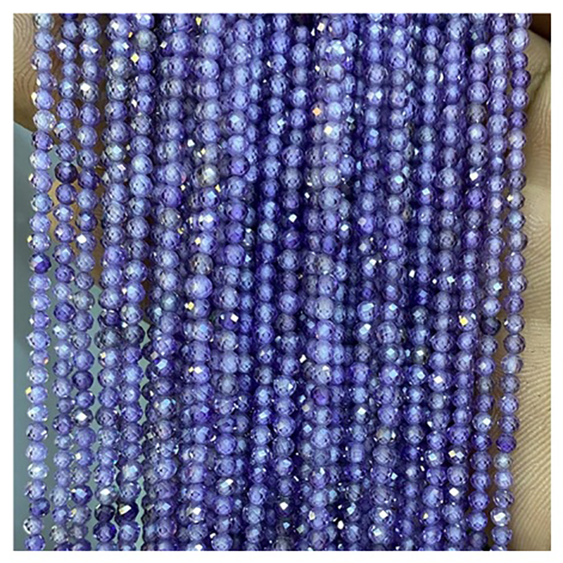 Wholesale 2mm 3mm Zircon Beads for Jewelry Making