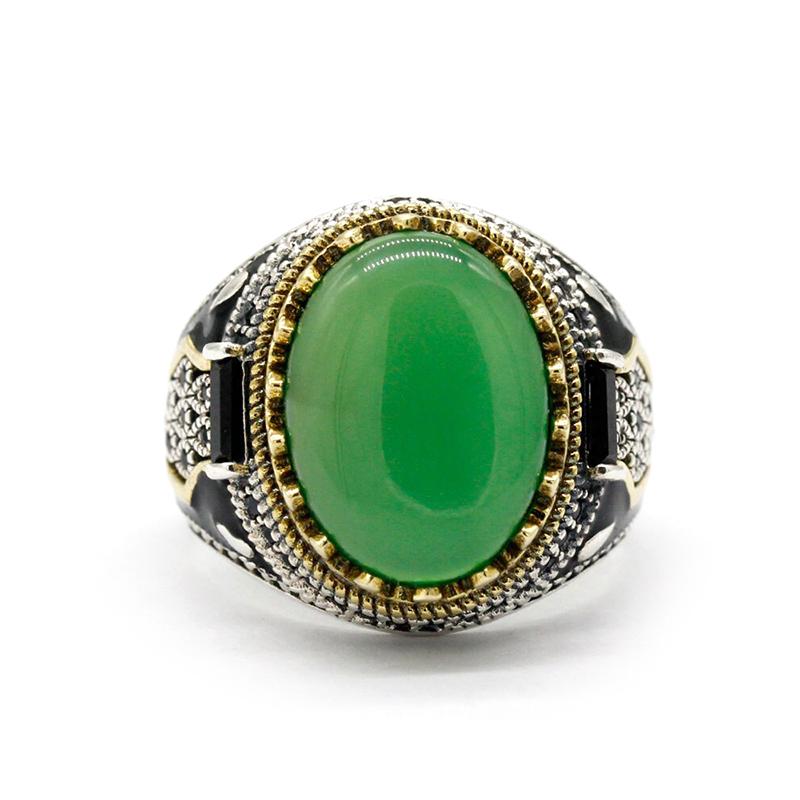mens-green-agate-ring-turkish-handmade-s925-RNG-17756