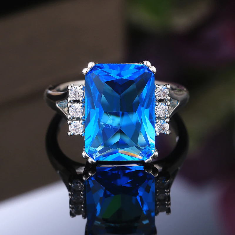 ring-blue-cubic-zirconia-silver-plated-white-brass-RNG-17635