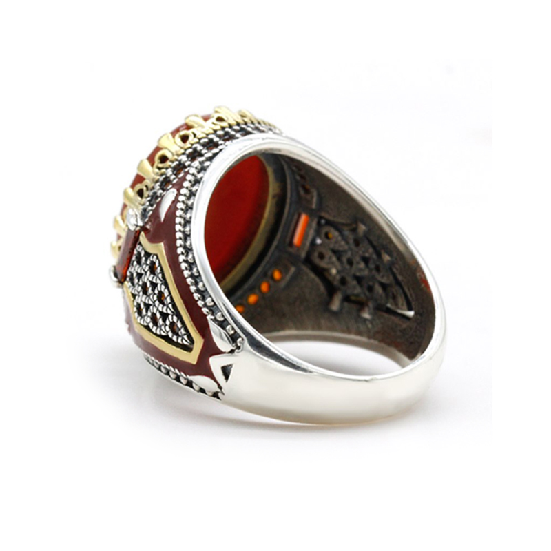 turkish-handmade-red-agate-mens-ring-cz-s925-RNG-17773