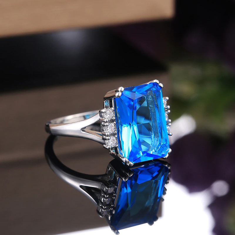 white-brass-ring-blue-cubic-zirconia-silver-plated-RNG-17635